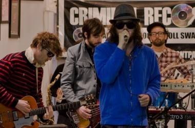 Broken Social at Criminal Records live photo