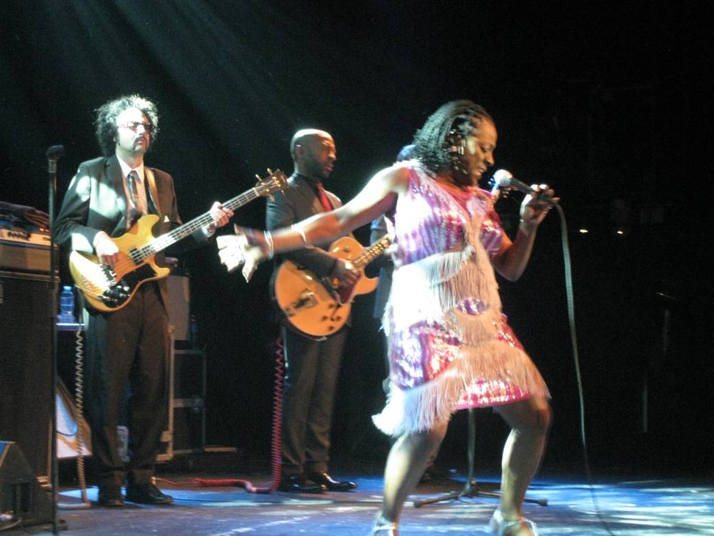 Sharon Jones and the Dap-Kings at the Commodore Ballroom