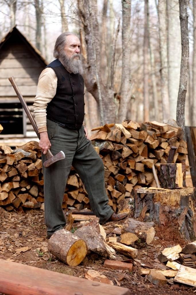 Robert Duvall's 'Oscar-worthy' beard in the movie Get Low.