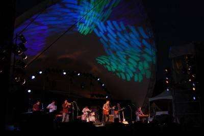 Calexico at the Vancouver Folk Music Festival, July 16 2010. Megan Chursinoff photo