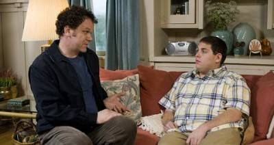 John C. Reilly and Jonah Hill in Cyrus.