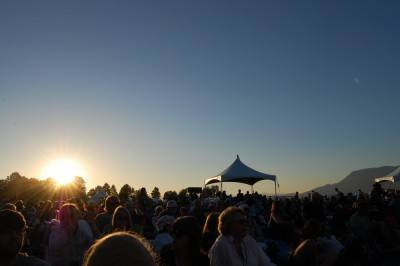 Sunset from Jericho, July 16 2010. Megan Chursinoff photo