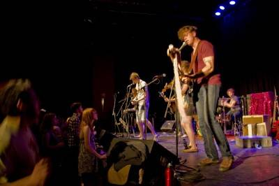 Rah Rah at the Park Theatre, Winnipeg, July 31 2010. Merrit Rawsthorne photo