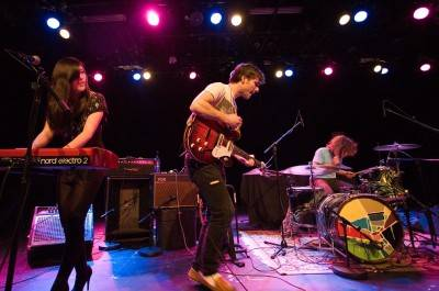 Said the Whale (pictured at the Commodore Ballroom, May 5 2010) is another Vancouver band playing Live at Squamish. Jason Statler photo