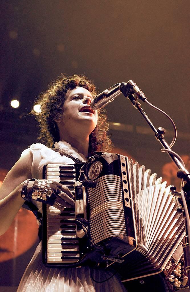 Arcade Fire at the Pacific Coliseum, Sept 28 2010. Ashley Tanasiychuk photo