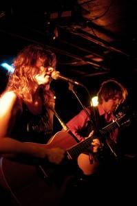 Colleen and Paul at the Biltmore Cabaret, Vancouver, Oct 9 2010. Ashley Tanasiychuk photo