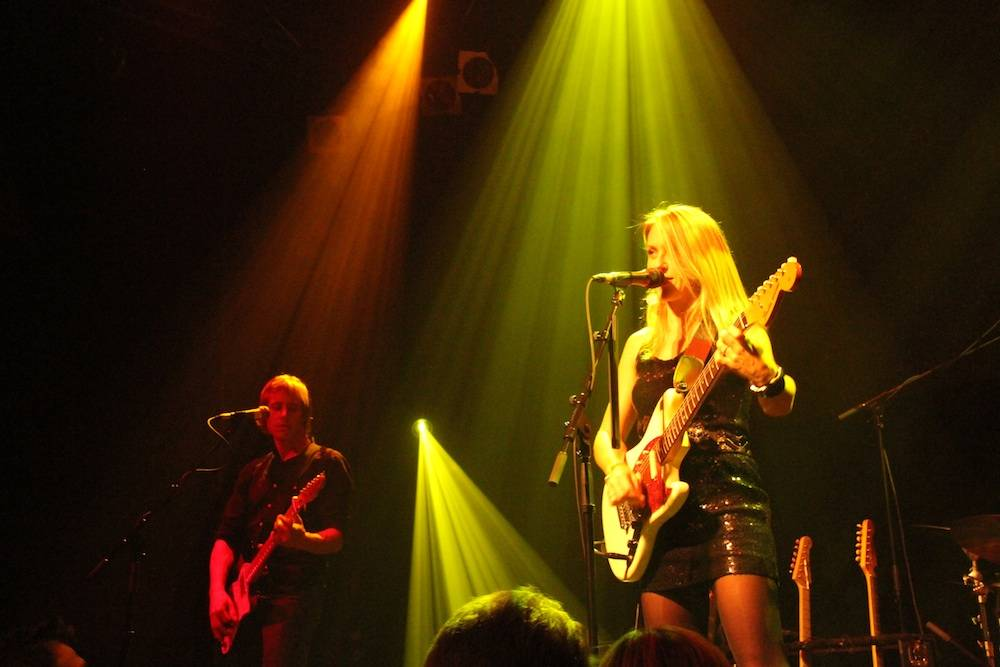Liz Phair at the Venue, Oct 15 2010. Robyn Hanson photo