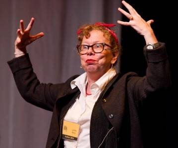 Lynda Barry. Chris Cameron photo.