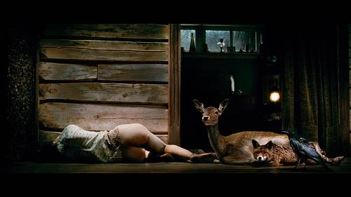 Charlotte Gainsbourg in Antichrist.