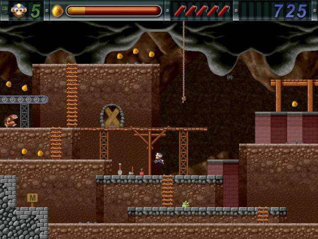 Gold Miner Joe by ActionSoft.