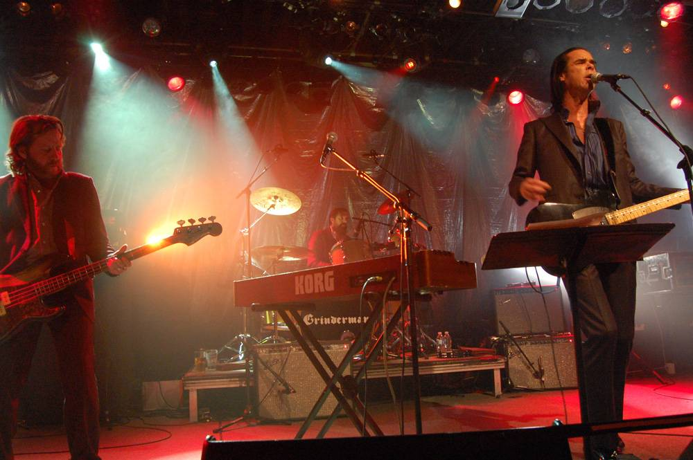 Grinderman at the Commodore Ballroom, Vancouver, Nov 26 2010. Raoul Fernandes photo