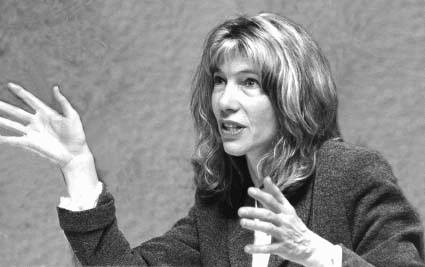 Author Linda McQuaig
