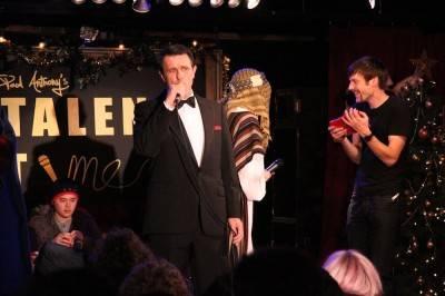 Rick Valiant at Talent Time Dec 1 2010. Robyn Hanson photo