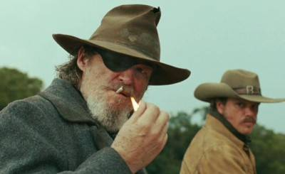 Jeff Bridges and Matt Damon in True Grit.