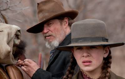 Jeff Bridges and Hailee Steinfeld in True Grit.