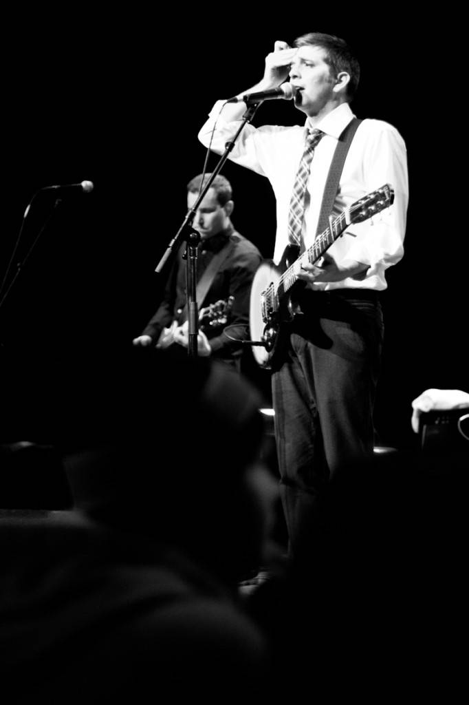 John K Samson with The Weakerthans concert photo