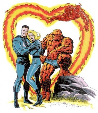 Fantastic Four by Jack Kirby.