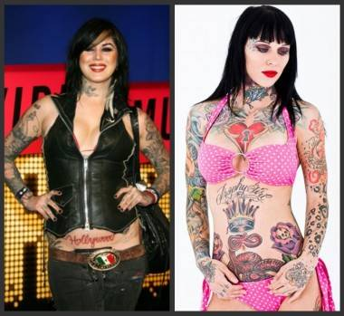 Kat Von D and Bombshell McGee