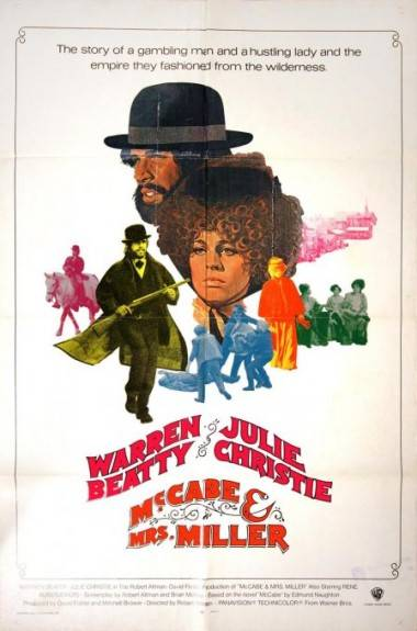 McCabe & Mrs. Miller movie poster