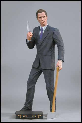 "18"" action figure of Patrick Bateman (American Psycho)"
