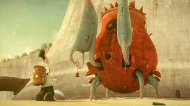 Shaun Tan art from The Lost Thing