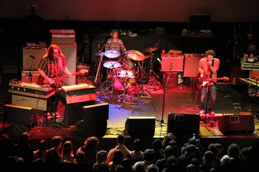 Yo La Tengo at the Rickshaw Theatre, Vancouver, Feb 19 2011. Robyn Hanson photo