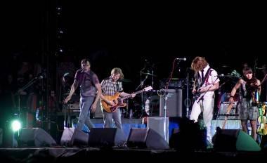 Arcade Fire at the Osheaga Festival, July 31 2011. Adrian Smith photo