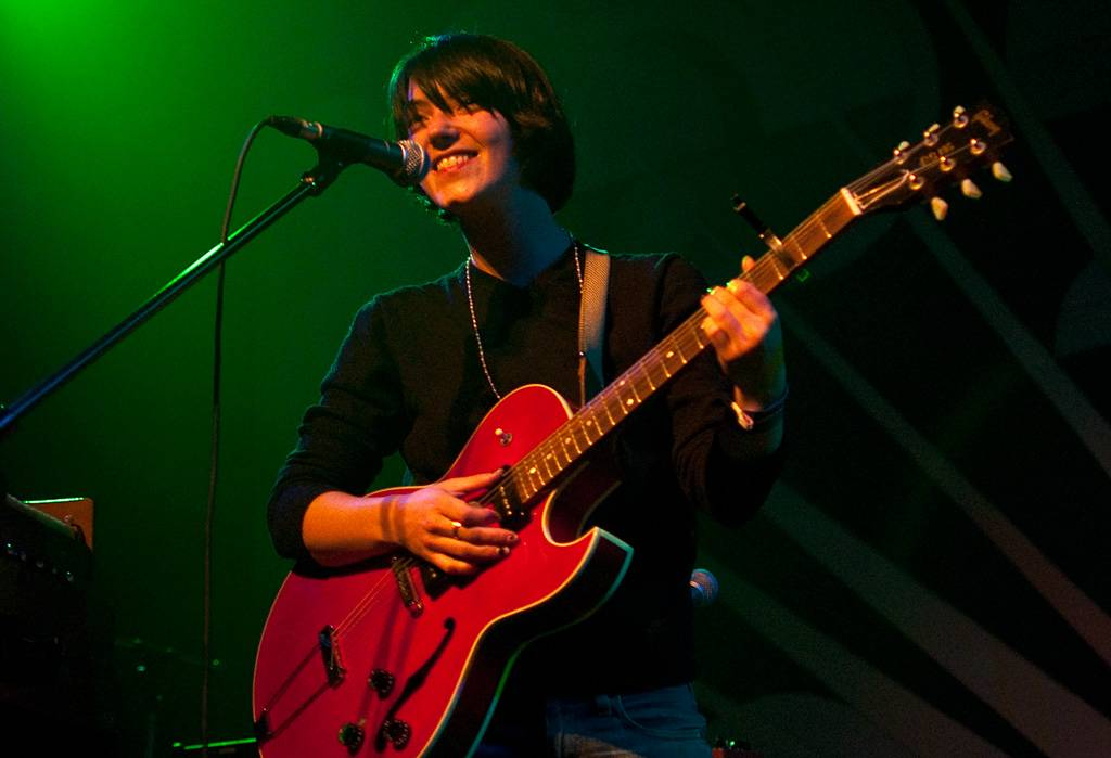 Sharon van Etten at the Venue, Vancouver, Nov 11 2010. Ashley Tanasiychuk photo