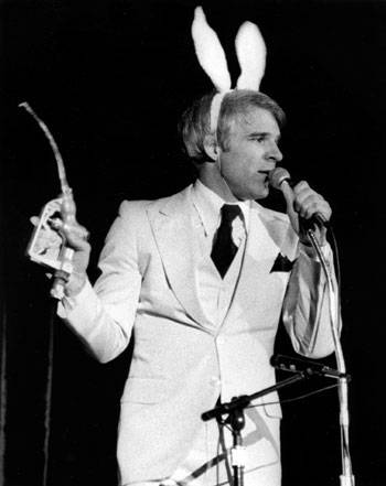 Steve Martin 'a wild and crazy guy'