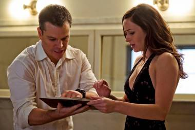 Matt Damon and Emily Blunt in The Adjustment Bureau (movie)