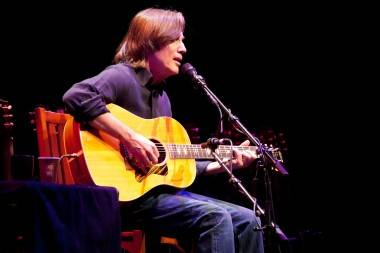 Jackson Browne concert at the Queen Elizabeth Theater, Vancouver, March 26 2011. Cameron Brown photo