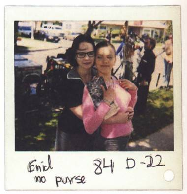Thora Birch and Scarlett Johansson Polaroid photo