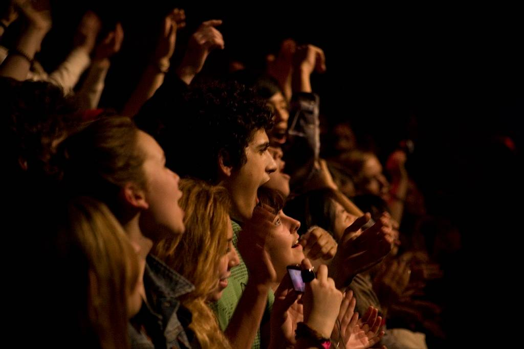 Born Ruffians at the Rickshaw Theatre, Vancouver, March 12 2011. Jason Statler photo