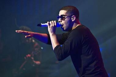 Drake at the Centre in Vancouver for Performing Arts, July 27 2010.