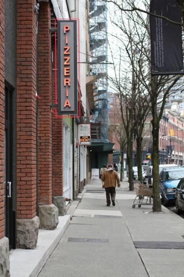 Nicli Antica Pizzeria in Vancouver, April 9 2011. Robyn Hanson photo