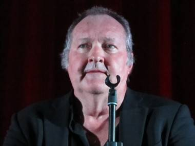 Randy Quaid at the Rio Theatre, Vancouver, April 22 2011. Rachel Fox photo