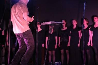 Stijn Kolacny with Scala at the Rio Theatre, Vancouver, April 7 2011. Robyn Hanson photo