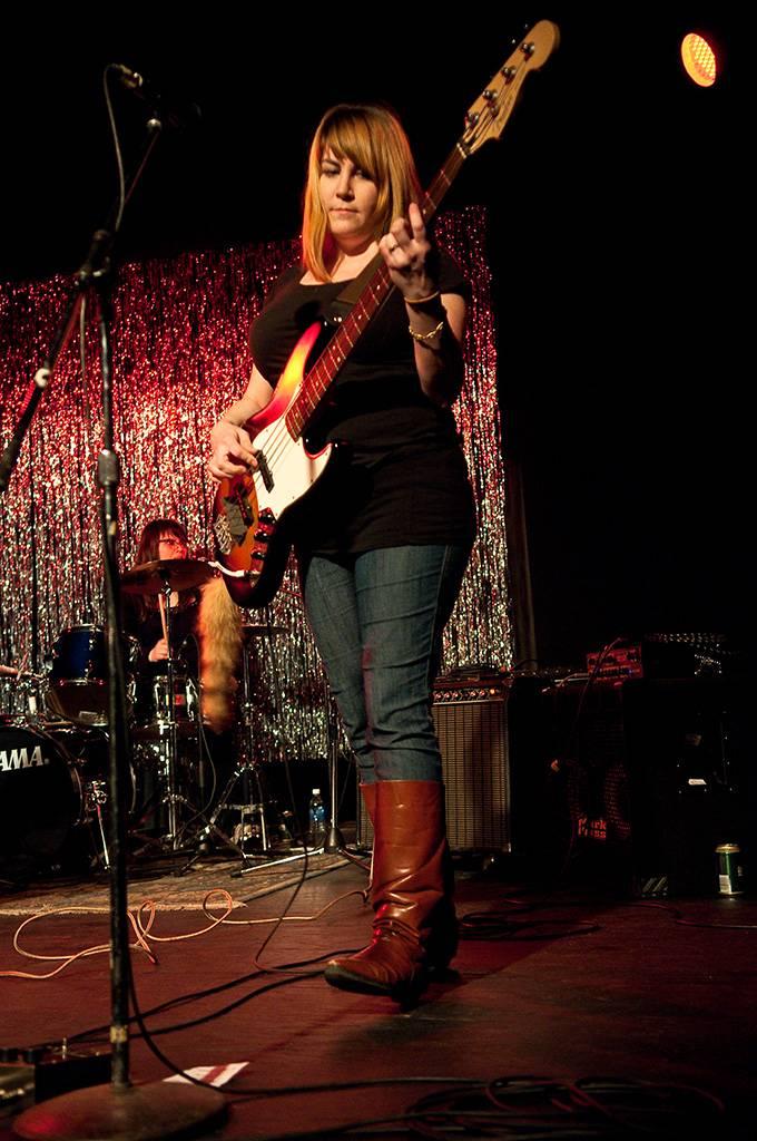 Vancougar at Girls Rock Camp Fundraiser, WISE Hall, Vancouver, April 7 2011. Ashley Tanasiychuk photo