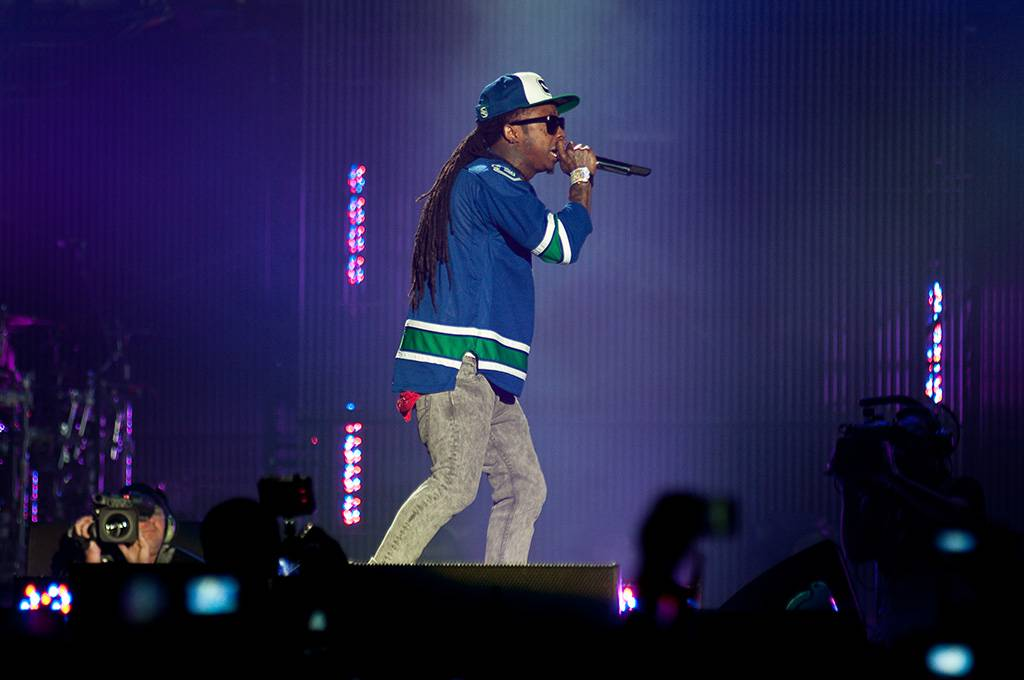Lil Wayne at Rogers Arena, Vancouver, April 27 2011. Ashley Tanasiychuk photo