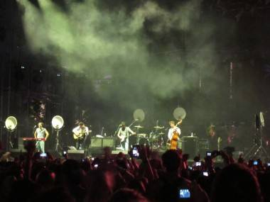 Mumford and Sons at Coachella, April 16 2011. Krystle Sivorot photo