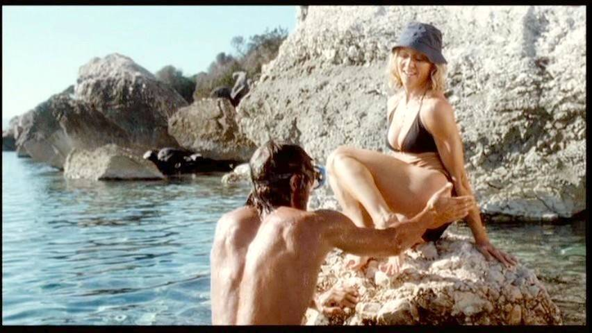 Adriano Giannini and Madonna in Swept Away
