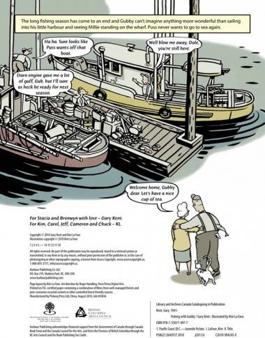 Page from Fishing with Gubby (Harbour Publishing 2010)