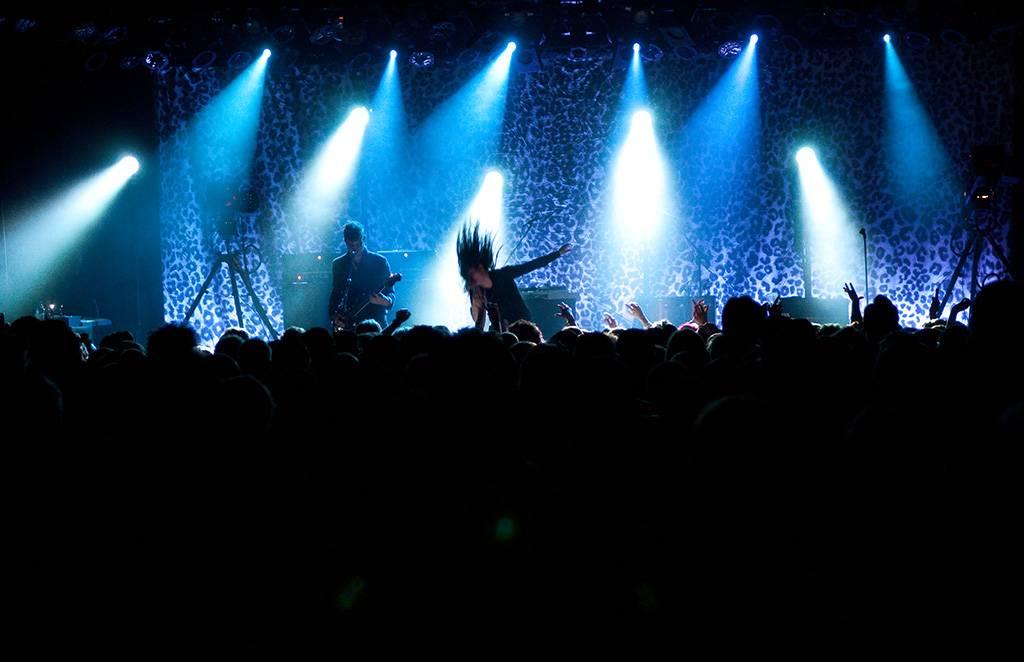 The Kills at the Commodore Ballroom, Vancouver, May 8 2011. Ashley Tanasiychuk photo