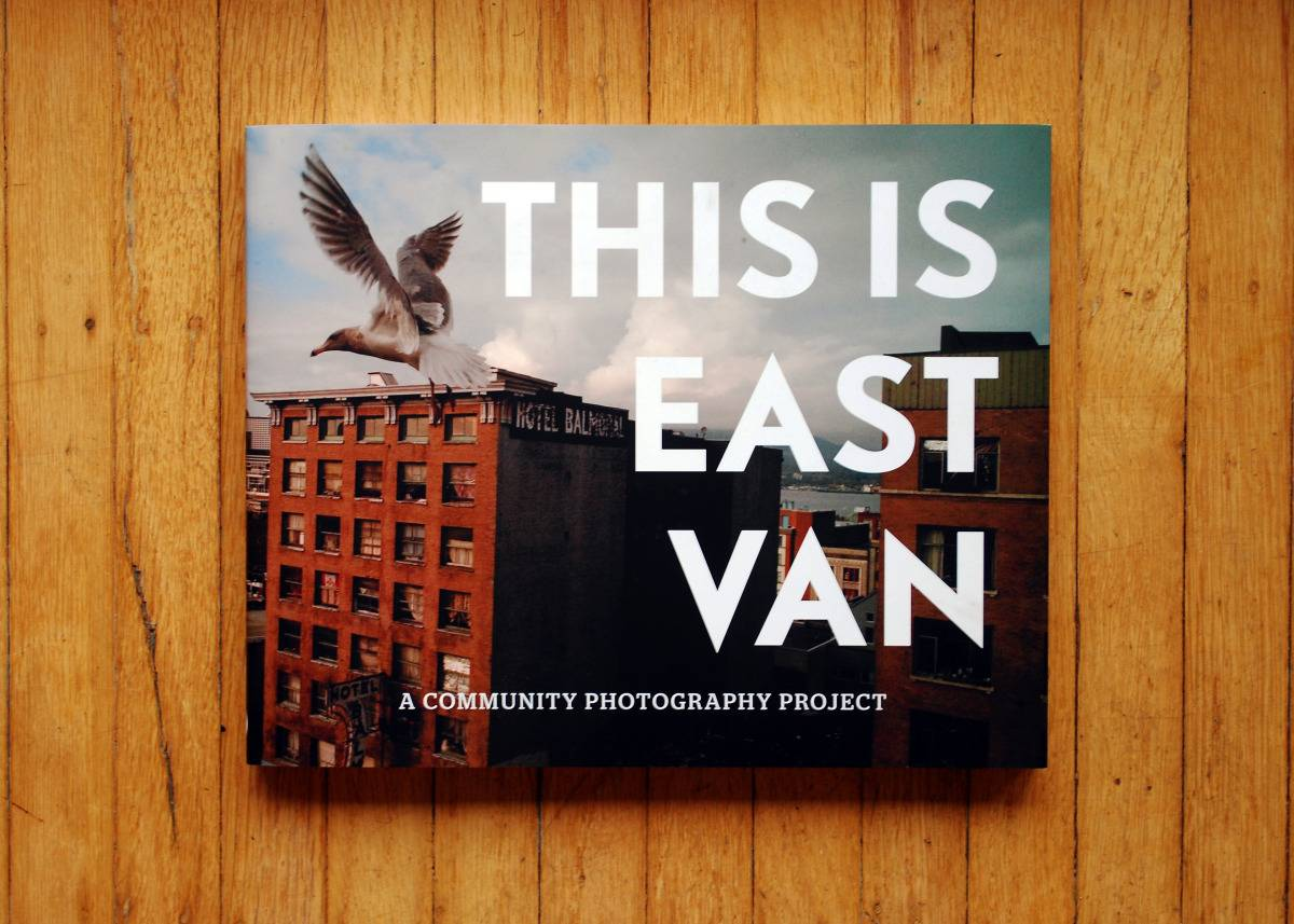 Book Cover Photography Prop ~ This is east van book launch