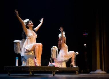 Roxi Dlite photos Vancouver International Burlesque Festival 2011