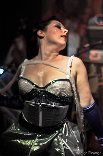 Burlesque dancer Voracious V