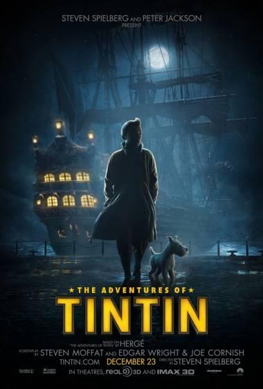 Tintin movie poster