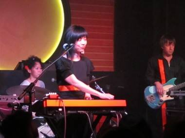 Cibo Matto at Fortune Sound Club, June 22 2011. Rachel Fox photo