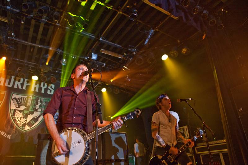 Dropkick Murphys at the Commodore Ballroom, Vancouver, June 25 2011. Graeme Foote photo