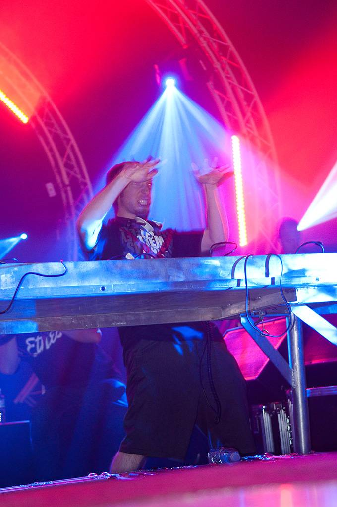 Excision at Invasion Festival, Thunderbird Arena, Vancouver, June 25 2011. Ashley Tanasiychuk photo